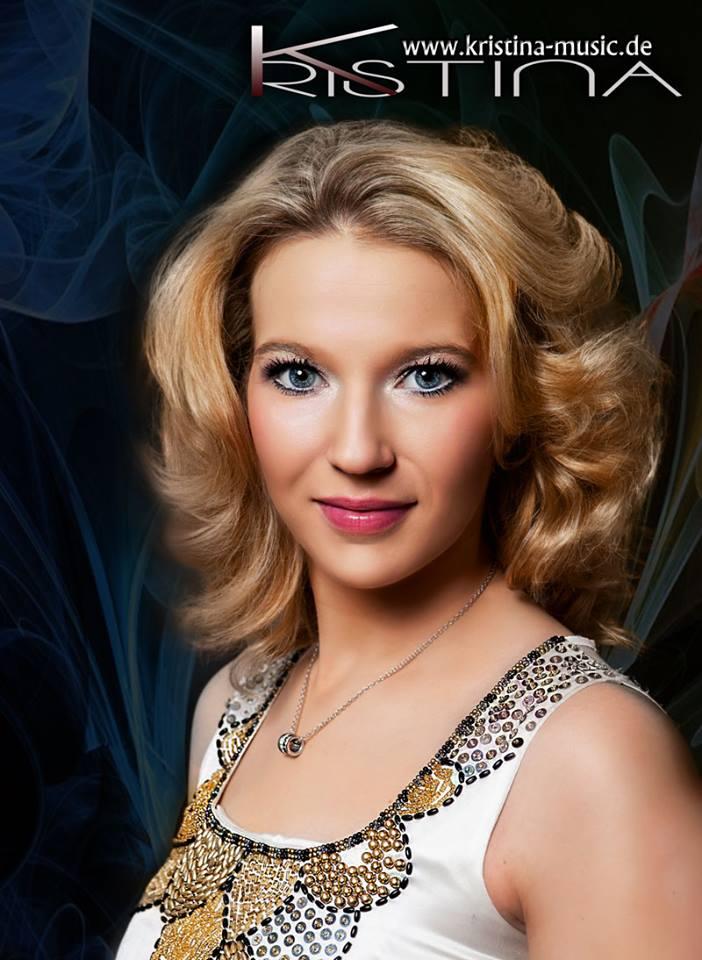 Sängerin Kristina